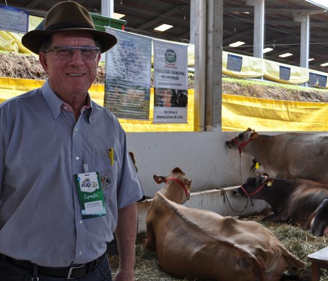 EFAPI 2017 recebe julgamentos de bovinos jovens das raças Jersey e Holandesa