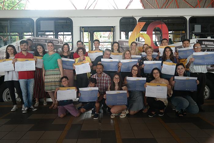 ACTU finaliza segunda edição do projeto 'A poesia vai de ônibus'