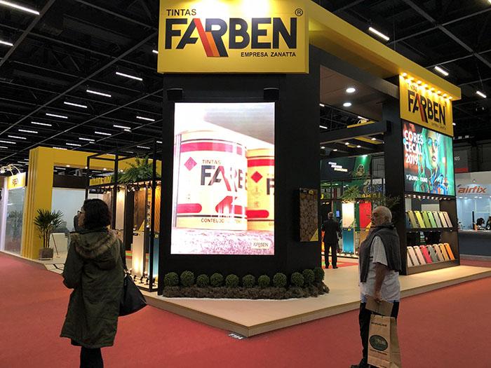 Tintas Farben participa da ForMóbile 2018 com vários lançamentos