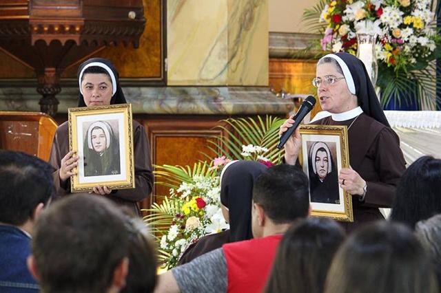 Irmãs Beneditinas celebram aniversário de sua fundadora