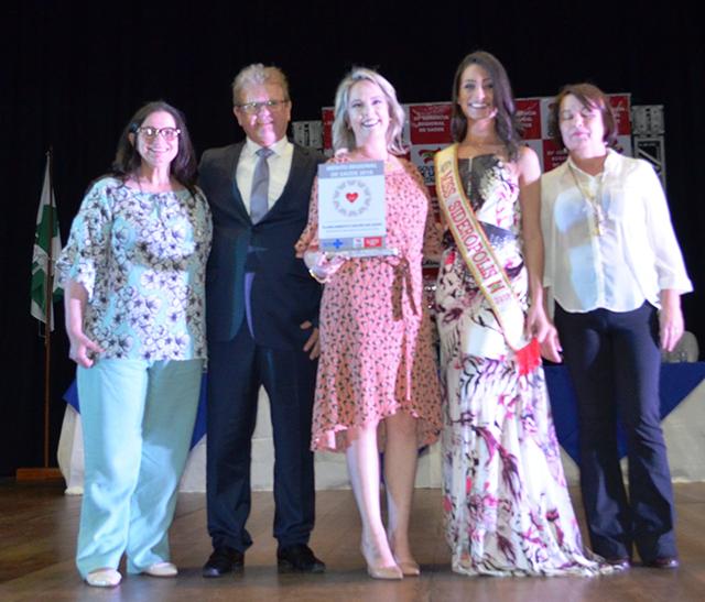 Siderópolis recebe seis prêmios no Troféu Mérito Regional de Saúde