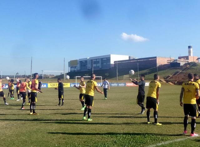 Grupo Carvoeiro realiza trabalho tático para encarar o Inter