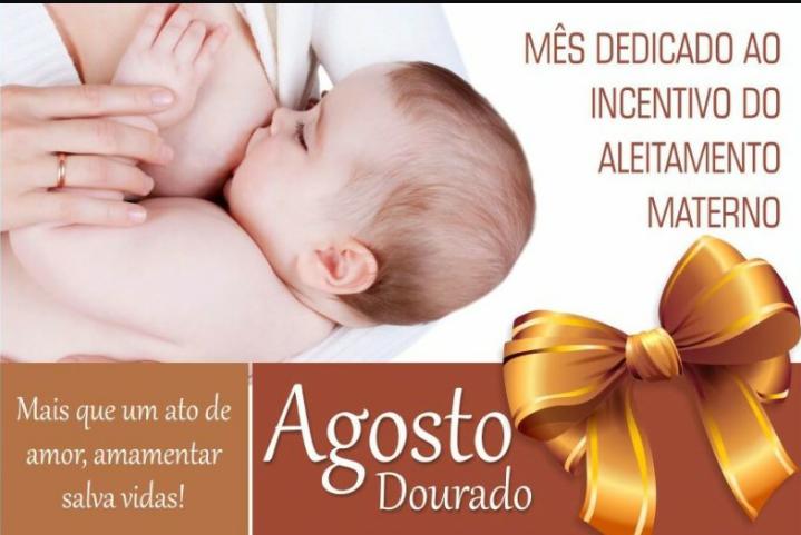 """Siderópolis inicia """"Agosto Dourado"""" voltado ao aleitamento materno"""