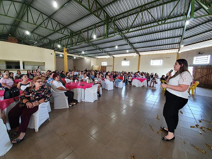 MDB Mulher de Rincão reúne 300 mulheres em evento sobre Florescer
