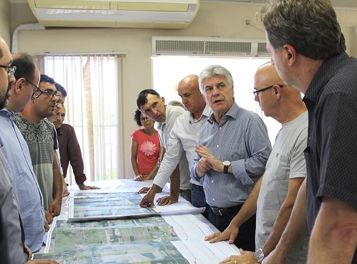Projeto do acesso sul ao Rincão é apresentado para associações empresariais
