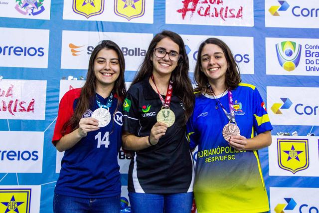Enxadrista de Içara é campeã brasileira universitária