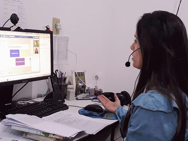 Saúde de Siderópolis participa de videoconferência e apresenta trabalho realizado sobre pré-natal odontológico
