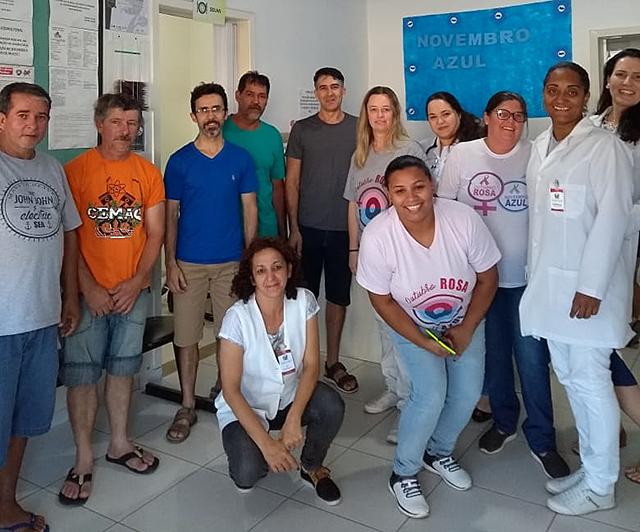 Novembro Azul já soma grande participação dos homens de Siderópolis