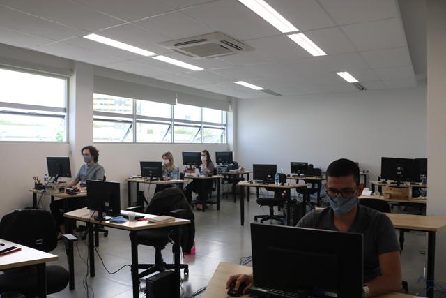 Espaço da Acic para trabalho remoto auxilia empresas de Criciúma e região