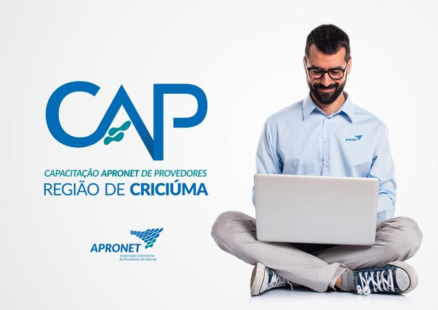 Criciúma vai receber Capacitação Apronet de Provedores
