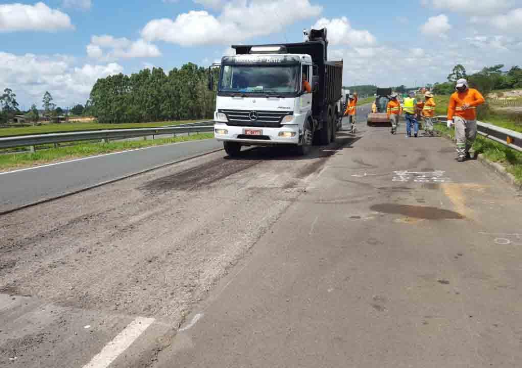 BR-101 Sul terá melhorias no asfalto para o Verão 2018