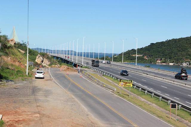 BR-101 terá melhorias em drenagem no km 316, entre Laguna e Pescaria Brava