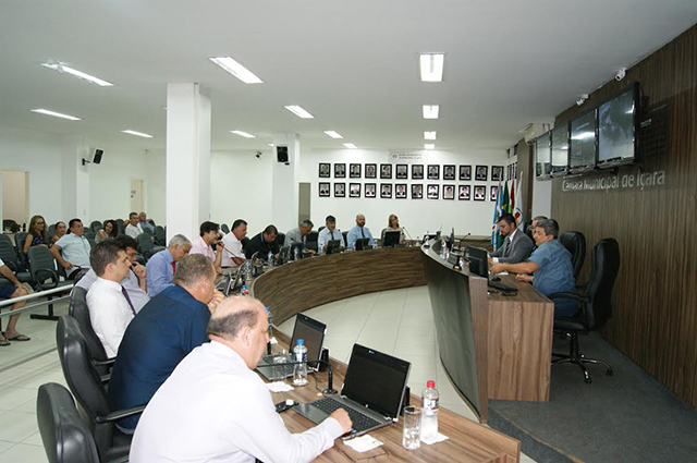 Vereadores escolhem membros das comissões permanentes