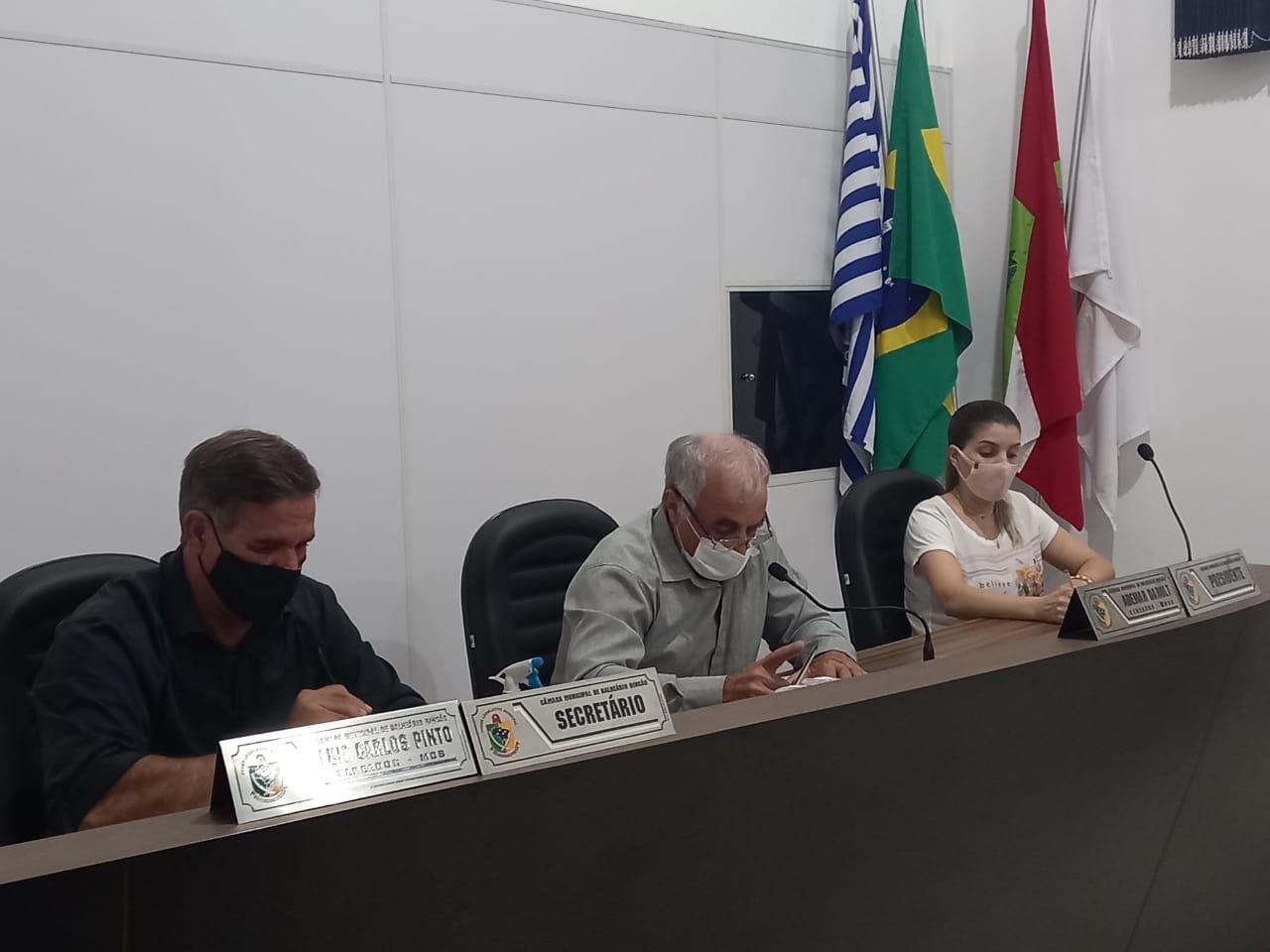 Vereadores de Balneário Rincão aprovam indicações na sessão de terça-feira