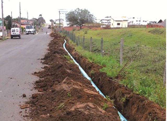Ampliação de rede de água beneficia bairros de Içara