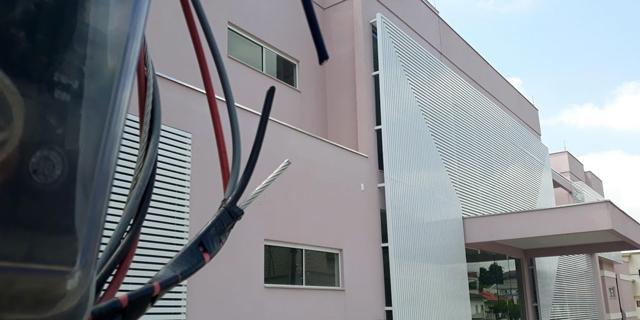 Casa Rosa tem fiação de energia e cabos dos para-raios furtados