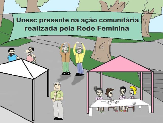 Unesc participa de ação da RFCC