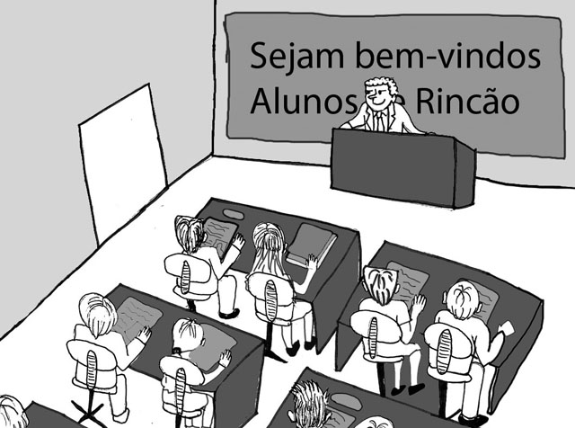 Volta ás aulas em Rincão