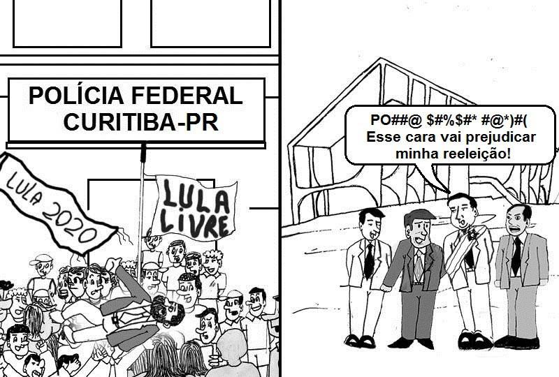 Lula e Bolsonaro dividem o Brasil