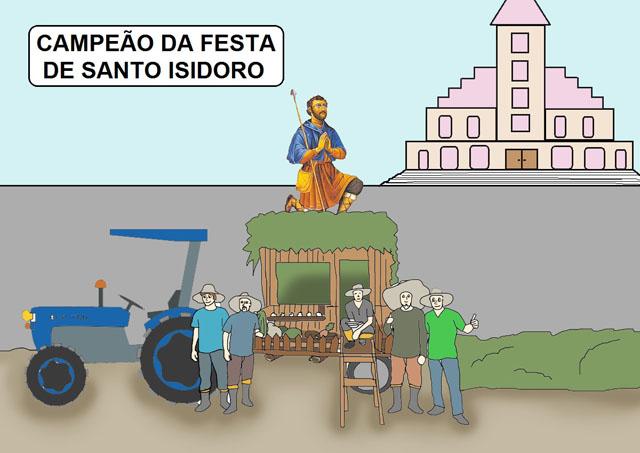 Santo Isidoro e os agricultores
