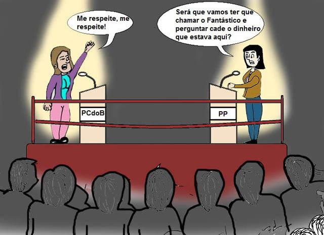 Discussão entre vereadoras