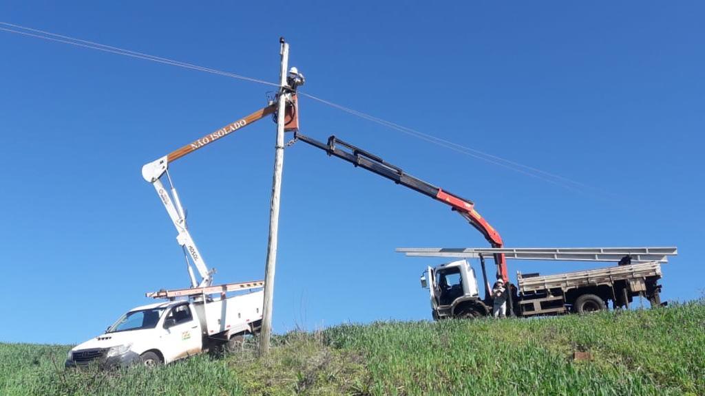 Ciclone: 98% do sistema elétrico restabelecido em Santa Catarina .