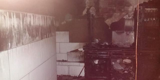 Residência é destruída em incêndio na cidade de Balneário Rincão