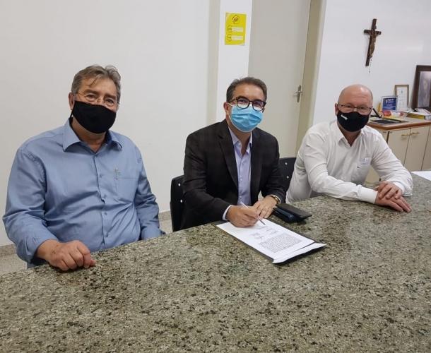 Alexandre Farias é empossado vice-presidente do Criciúma Esporte Clube