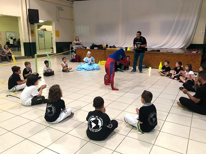 Campeonato de Capoeira será realizado na Satc