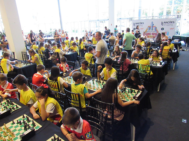 Com apoio da FMCE, Circuito de Xadrez acontece em Criciúma