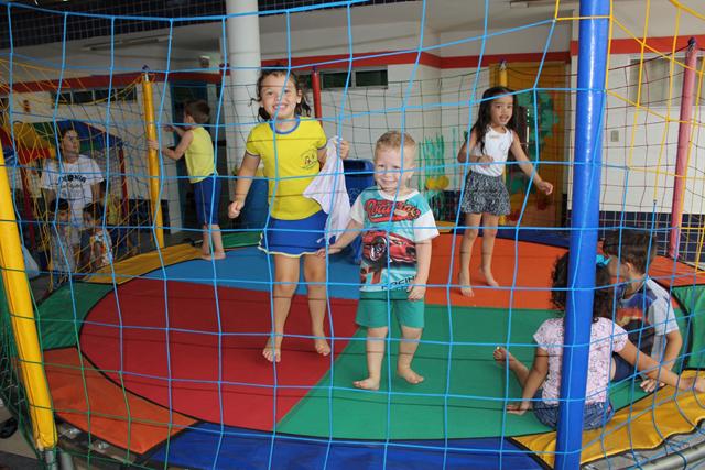 Alegria e diversão marcam o primeiro dia da Colônia de Férias