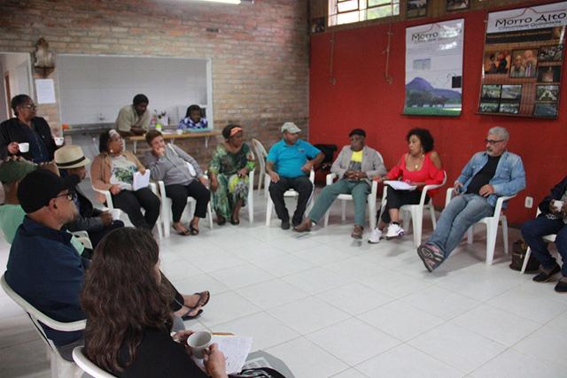 Consórcio participa de reunião comunidade quilombola de Morro Alto (RS)