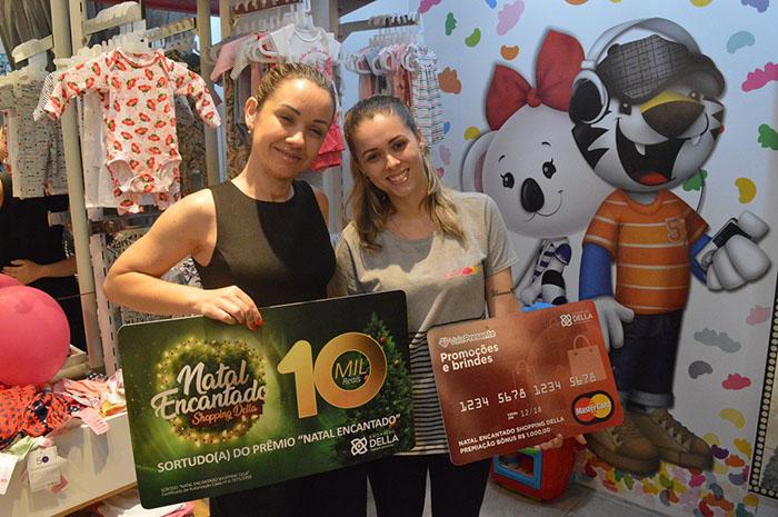 Shopping Della revela ganhadora do primeiro sorteio de R$ 10 mil