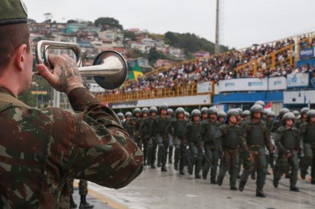 Estado não terá tradicional desfile de Sete de Setembro em função da pandemia