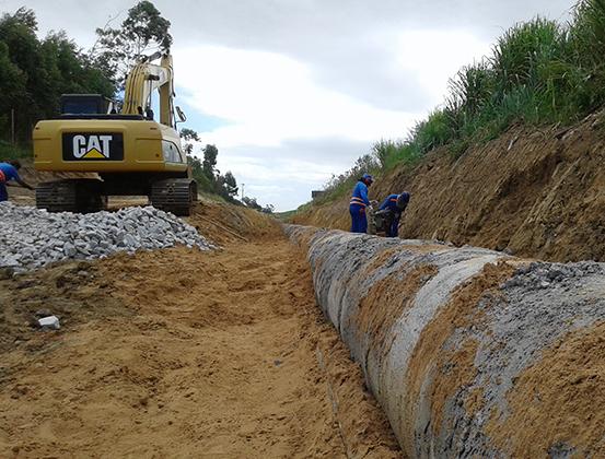 DNIT/SC finaliza 320 metros de drenagem na BR-101