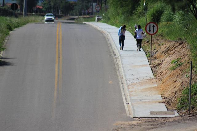 DNIT/SC tem 2,2 mil metros de passeios públicos construídos em Tubarão