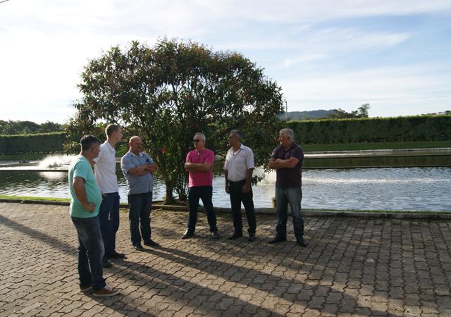 Comissão de Serviços Públicos visita Samae de São Ludgero