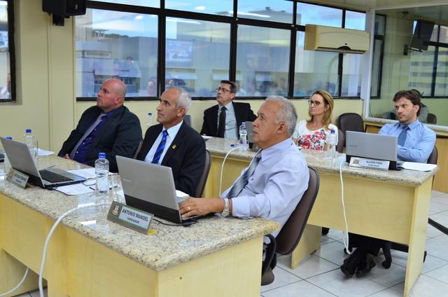 Informações sobre a Sessão do dia 6/2 na Câmara de Criciúma