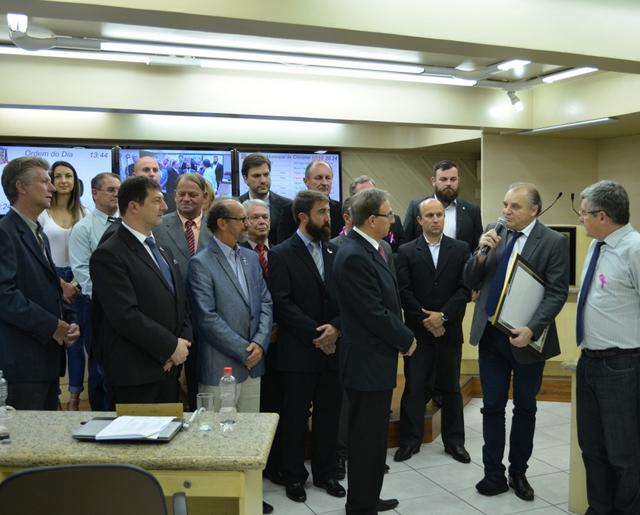 Mantido o Veto Total do prefeito municipal de Criciúma