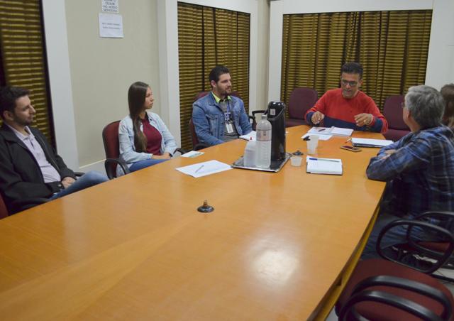 Colegiado de Cultura e Turismo recebe visita internacional