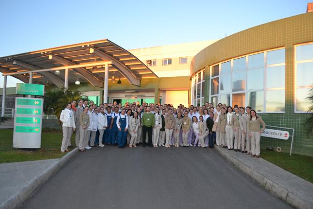 Hospital Unimed Criciúma é Acreditado com Excelência