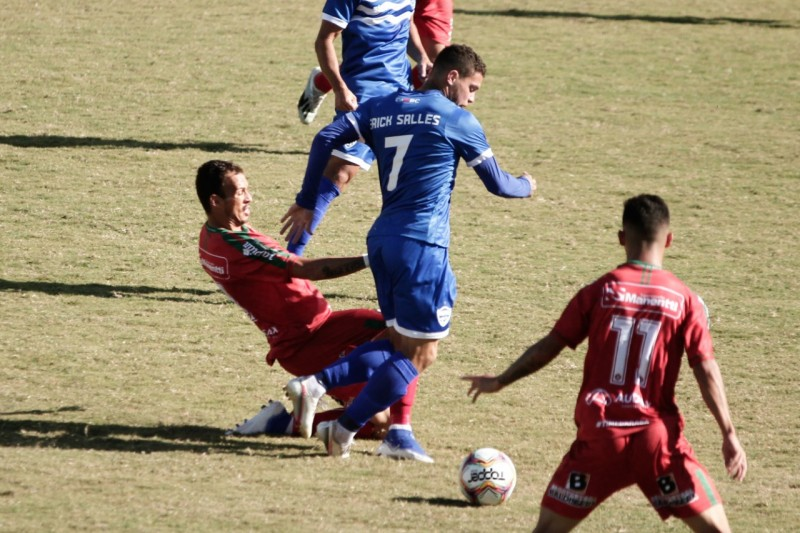 Próspera perde a partida contra o Barra de Itajaí pela Segundona Catarinense
