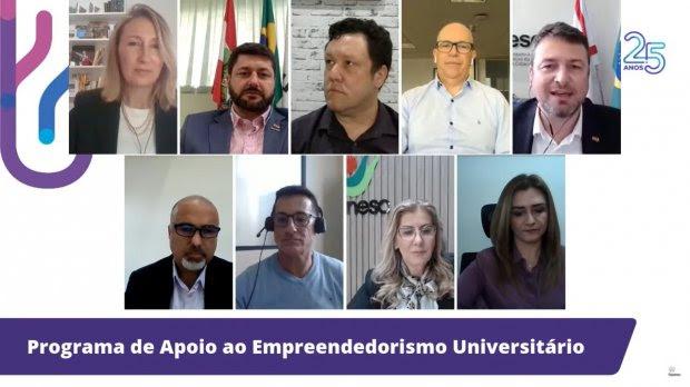SC destina R$ 9,5 milhões para fomentar empreendedorismo universitário