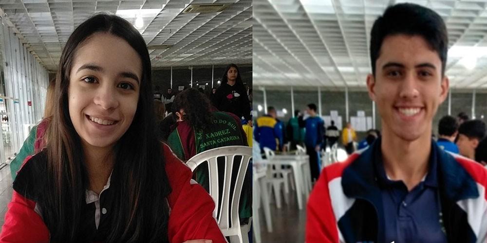 Enxadristas Maria Clara e Vanderval garantem vaga na final de circuito
