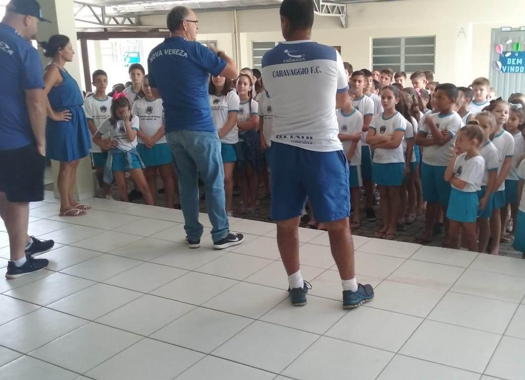 Escolinhas esportivas de Nova Veneza iniciam as aulas