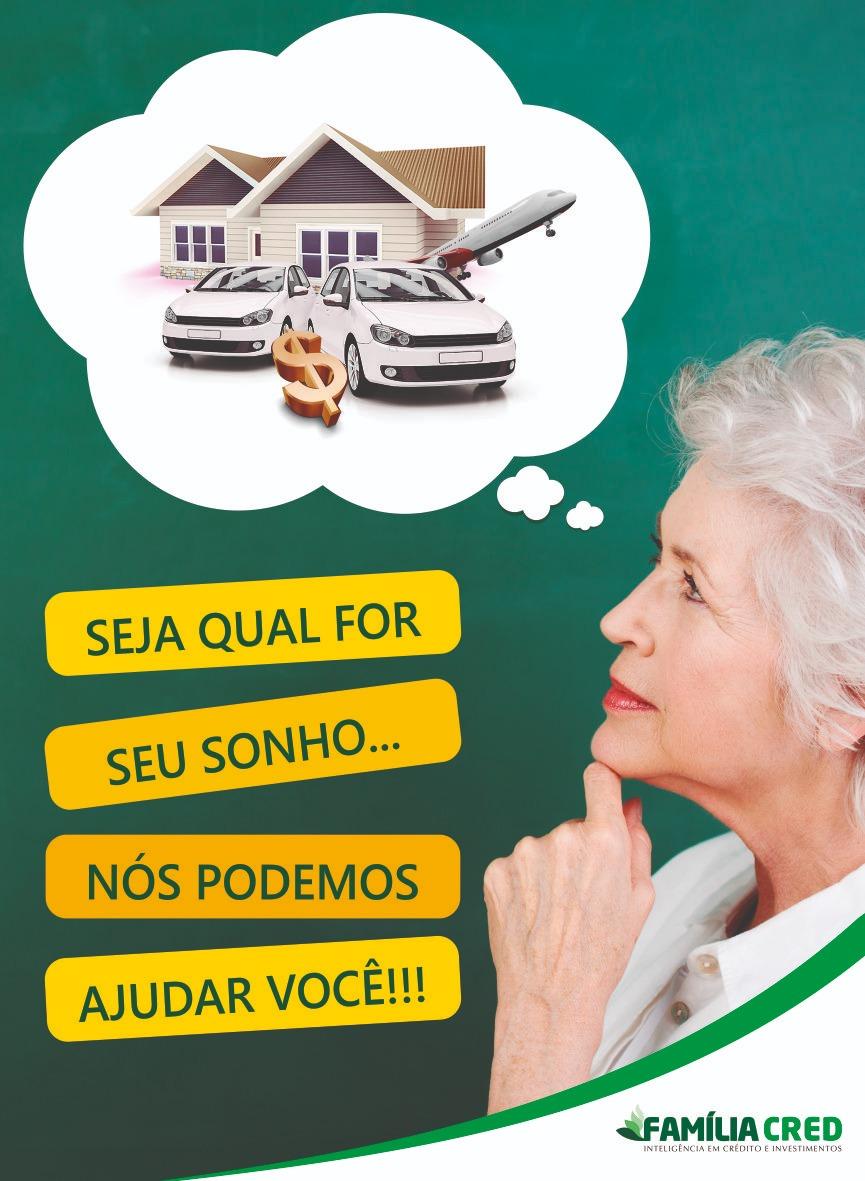 Empréstimo Consignado é com a Família Cred na cidade de Içara