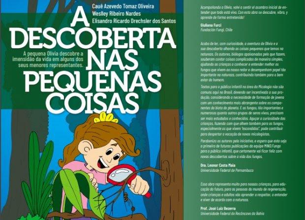 Livro infantil que recebeu apoio da Fapesc será lançado no Dia da Ciência