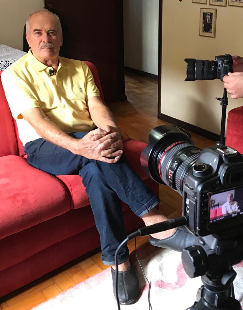 Moradores de Forquilhinha em luto pela morte do ex-prefeito Nelson da Soler