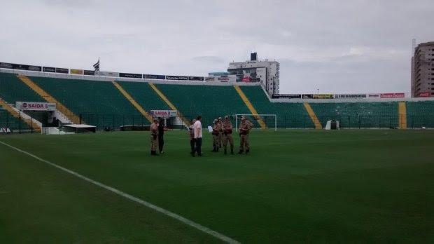Polícia Militar de SC atua para o retorno dos jogos de futebol do Catarinense