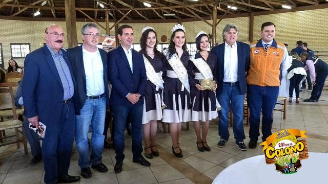 Autoridades recebem convite para 23ª Festa do Colono de Turvo